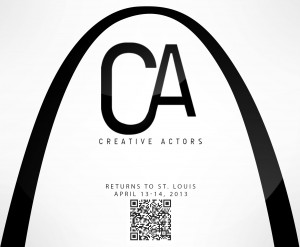 Creative Actors 2Day Intensive Returns to St. Louis - Back by Popular Demand!