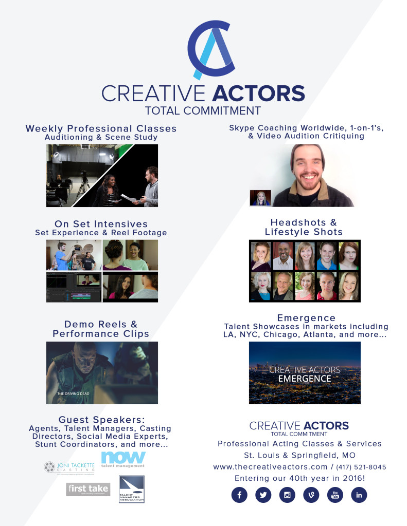 CREATIVE ACTORS Promo 2015 Draft 2